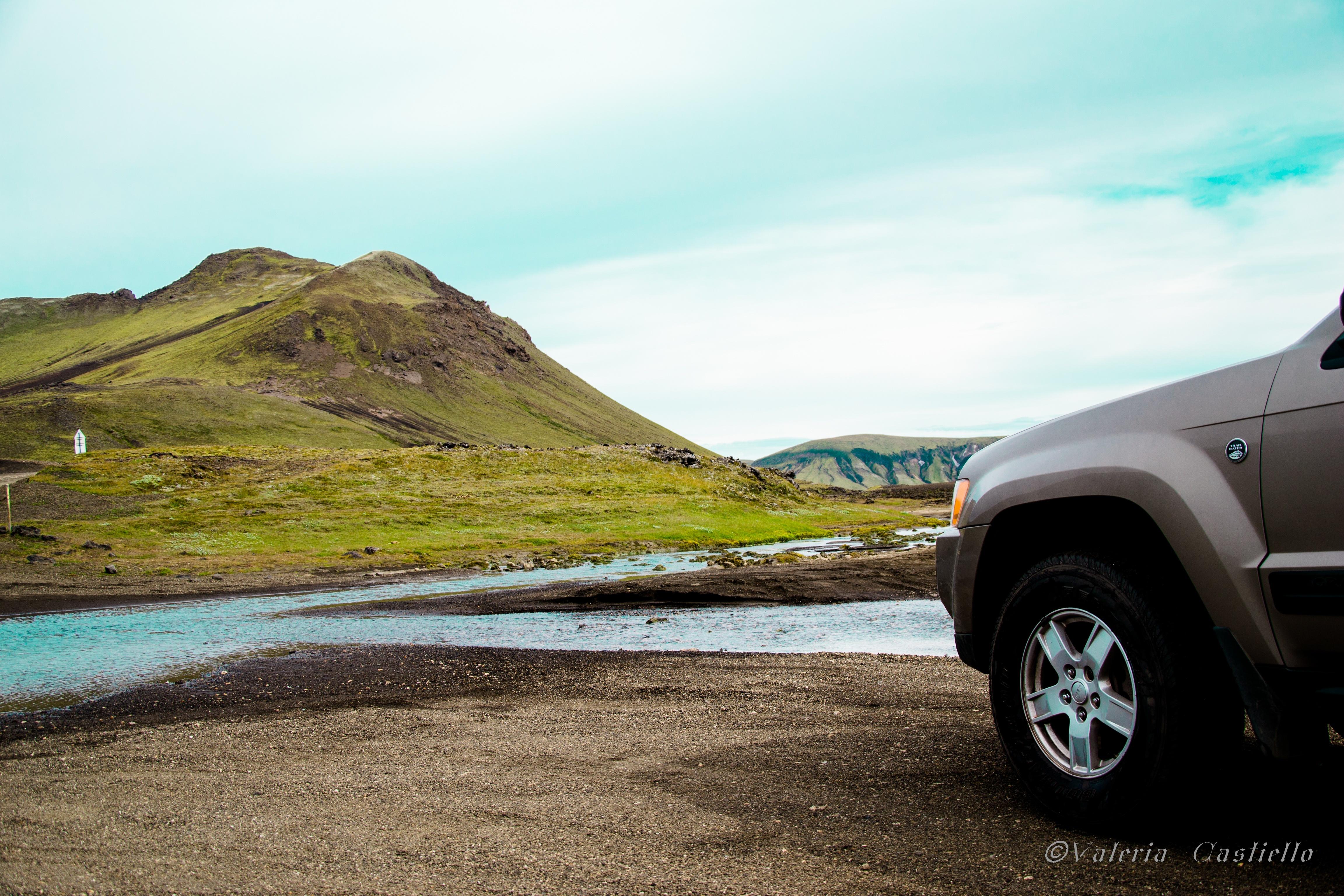 Landmannalaugar - ecco il primo fiume da guadare