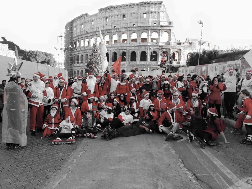 Pattinare a Roma a rotelle