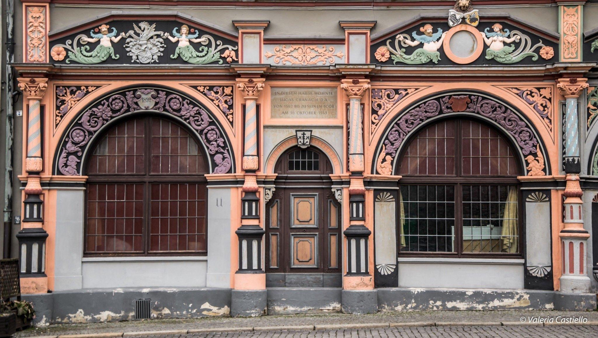 Cranach- House, Weimar - Germania - Cosa vedere e fare in Turingia
