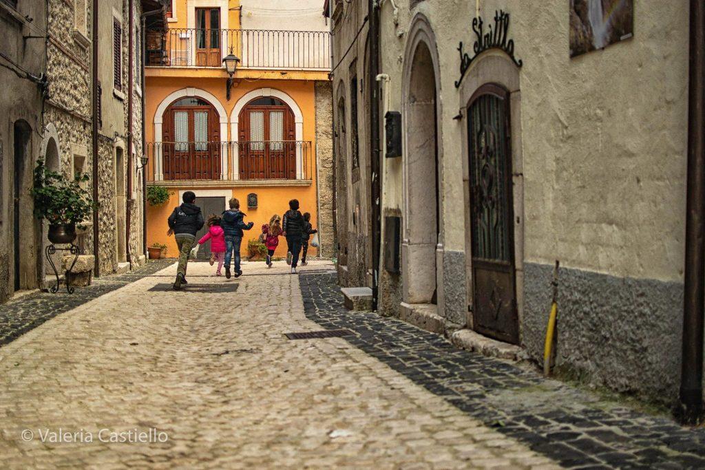 Il borgo di Pescasseroli_Abruzzo