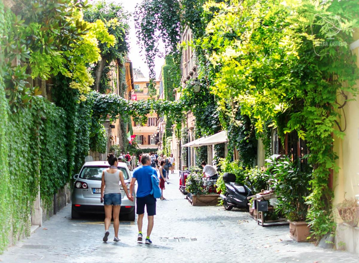Via Margutta - Itinerario_un giorno_Roma