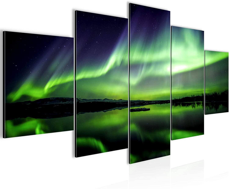Quadri aurora boreale