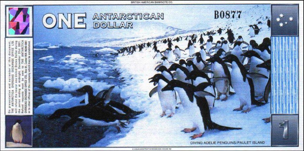Valuta Antartide_Dollaro antartico