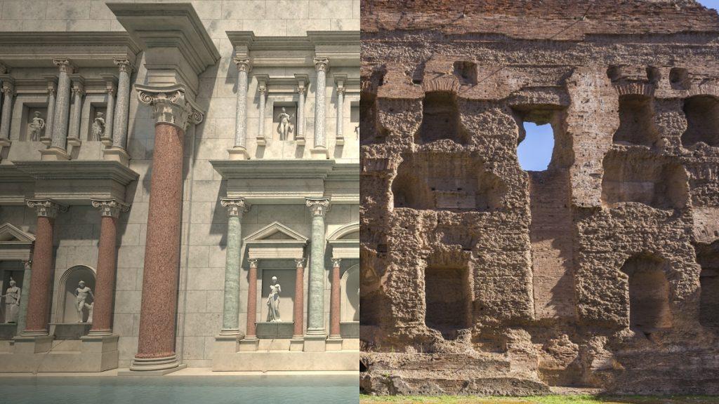 Terme Caracalla_Roma antica in 4D_ricostruzioni multimediali realtà aumentata ©Artribune