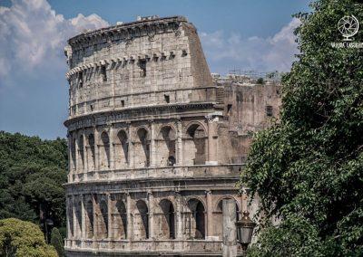 Colosseo dal Clivo di Venere Felice