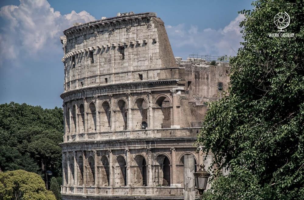 Colosseo dal colle Oppio
