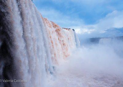 Iguazù, cascate dal lato brasiliano - Garganta del Diablo