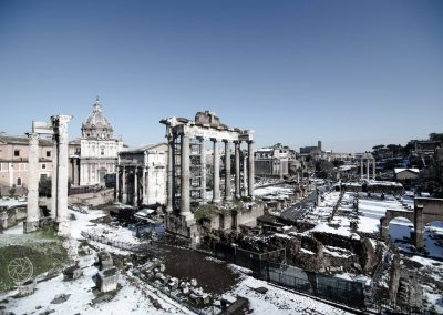 Neve a Roma 2018 - There is snow place like Rome