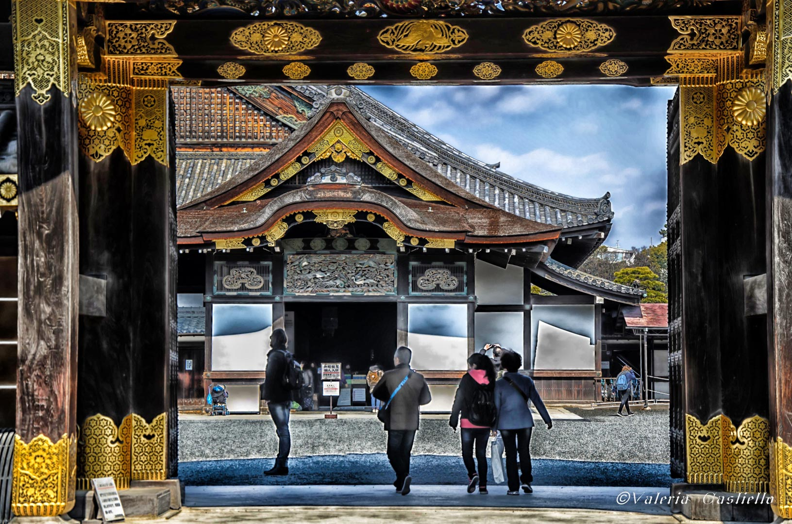 Castello Nijō, Kyoto -Giappone low cost