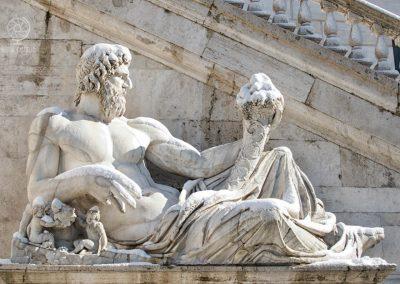 Statue Campidoglio_Tevere