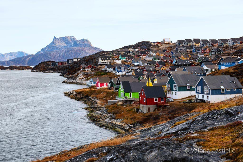 Nuuk - Old Harbour - Visitare la Groenlandia a basso costo
