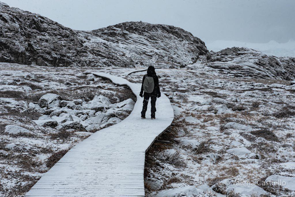 Sermermiut trekking in inverno - Groenlandia low cost