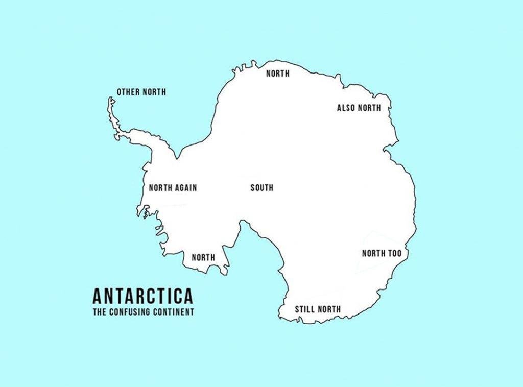 Cartina Geografica Norvegia Fisica.Mappe Dell Antartide Cartine Da Conoscere Prima Di Partire Valeria Castiello