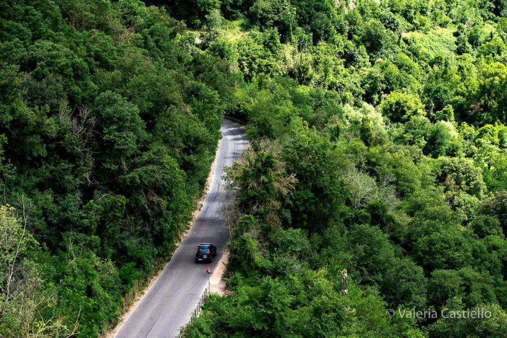 Cascate di Monte Gelato_come arrivare in macchina