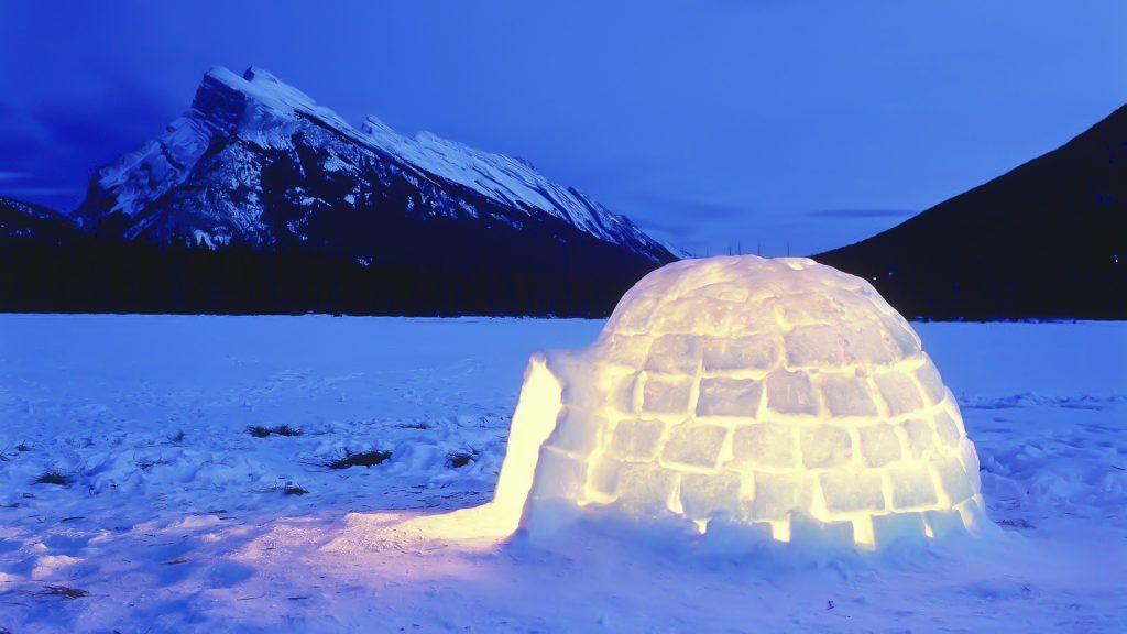 Igloo o Iglu_Eschimese o inuit
