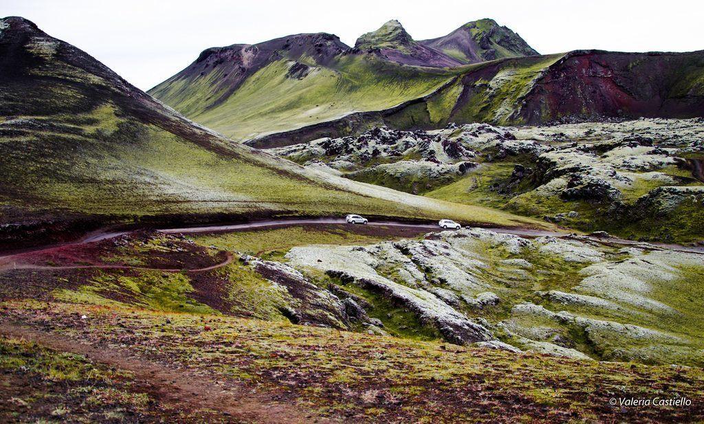 Come raggiungere Landmannalaugar? Con uno speciale 4x4!