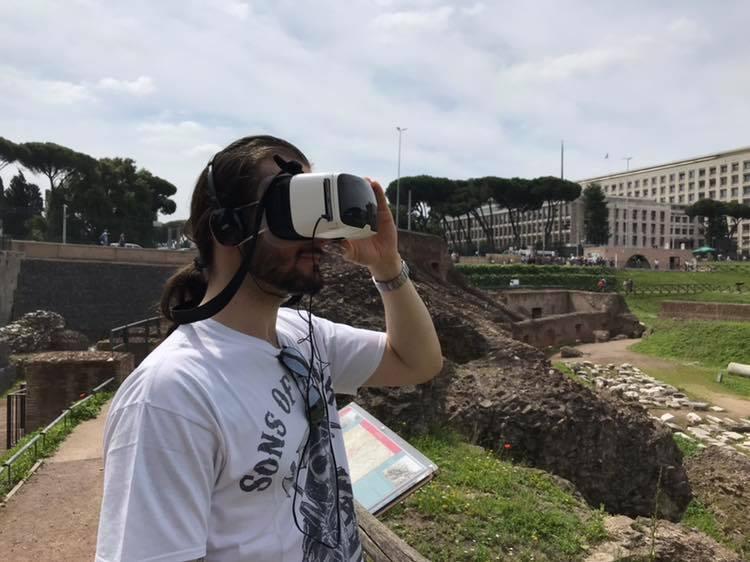 Circo Massimo experience_realtà virtuale_Roma antica in 4D