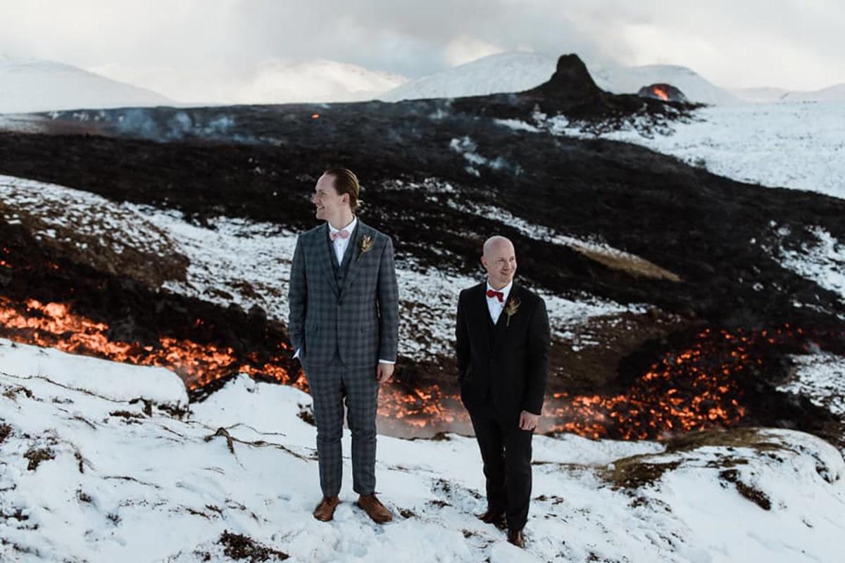 Vulcano Islanda_matrimonio_foto di Styrmir Kári & Heiðdís - Pink Iceland