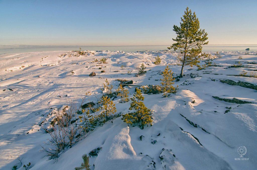 """""""Sulla luna c'è vita"""" - Mare ghiacciato in Svezia"""