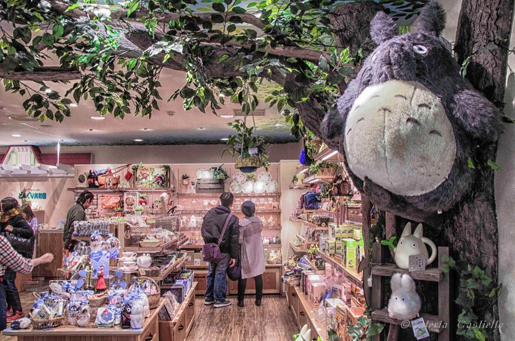 Giappone low cost - Totoro shop a Tokyo Character Street