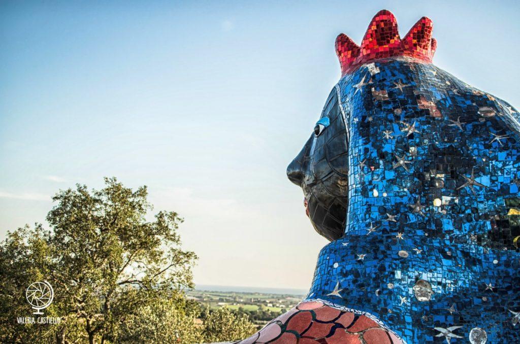 L'imperatrice, la casa-atelier di Niki de Saint Phalle -Guida al Giardino dei Tarocchi