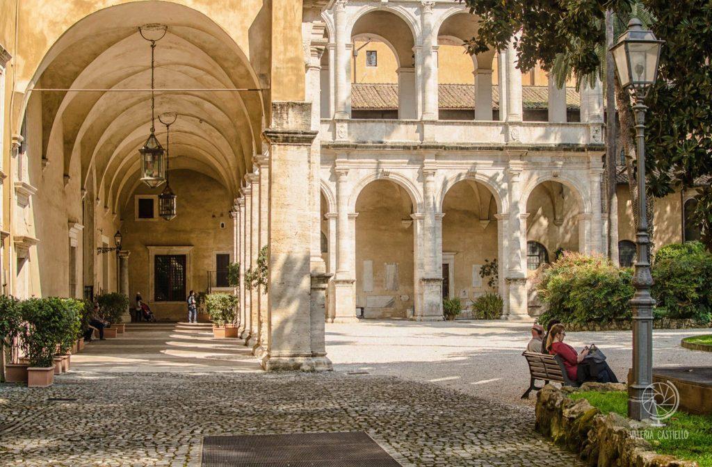 """Giardino di Piazza Venezia a Roma: il cosiddetto """"giardino ritrovato"""""""