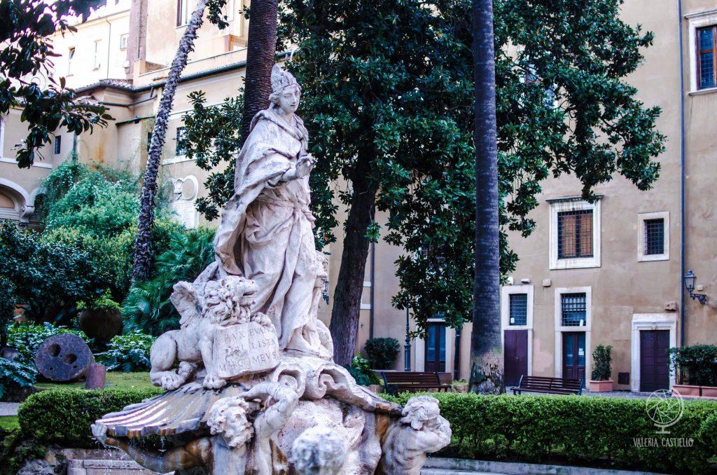 Lo splendido giardino di Palazzo Venezia a Roma - il giardino ritrovato