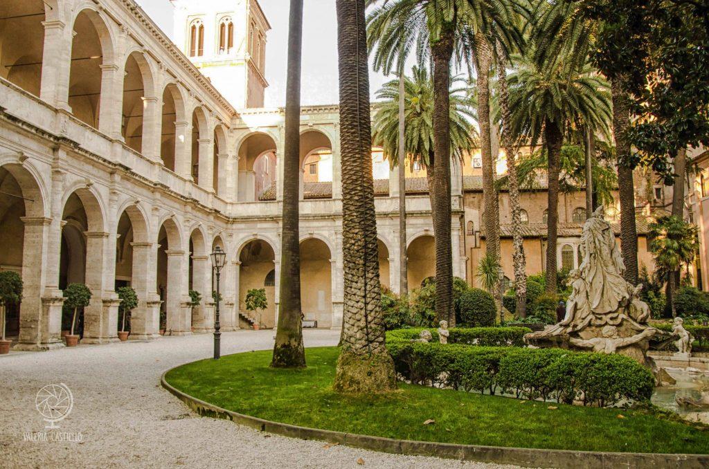 Il giardino ritrovato di Palazzo Venezia, Roma