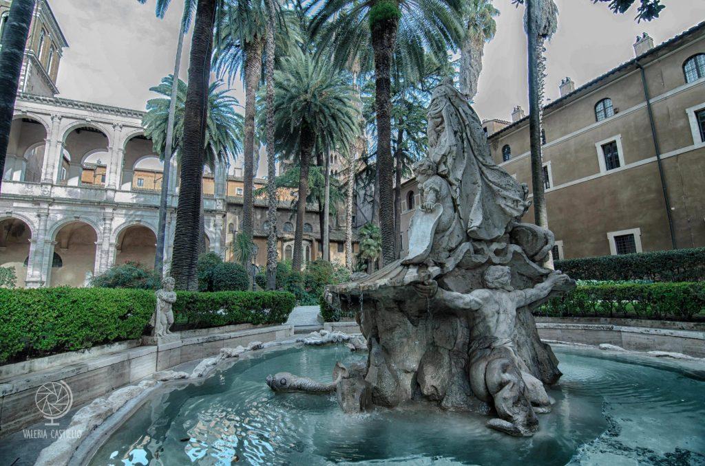 Il Giardino ritrovato di Palazzo Venezia a Roma