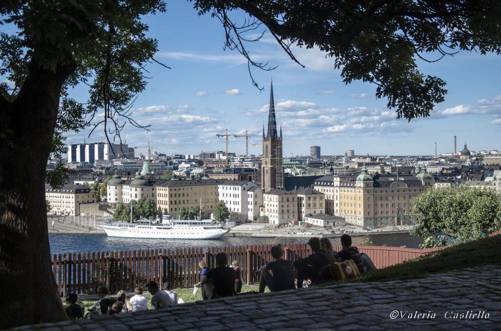 Stoccolma low cost - Vista dal Monteliusvägen