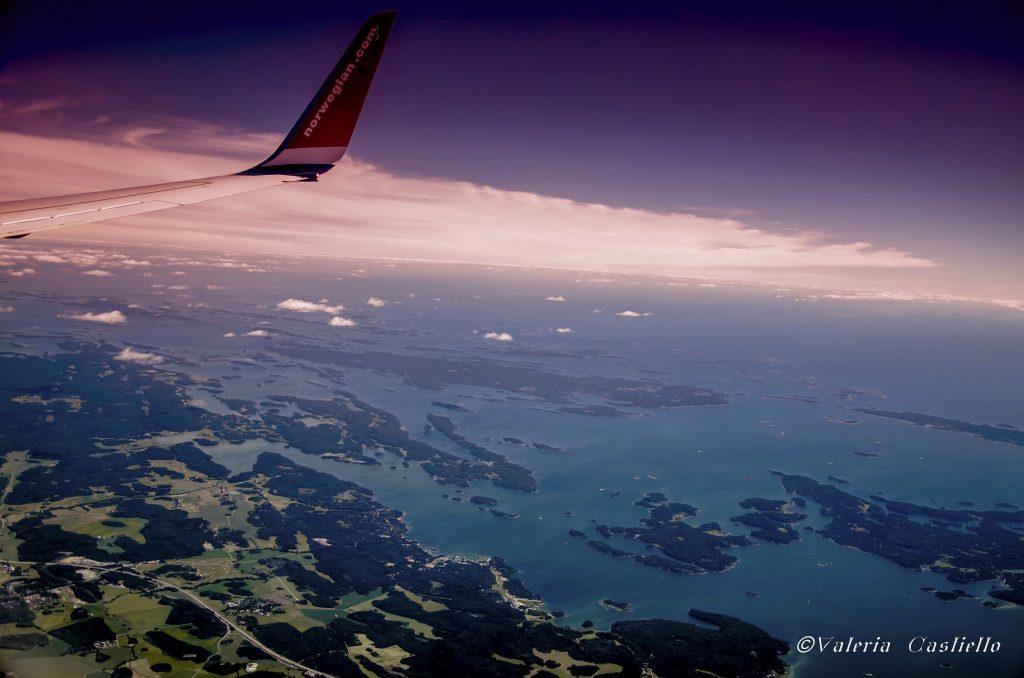 Stoccolma low cost - Arcipelago di Stoccolma: lo stupore inizia ancora prima di atterrare!