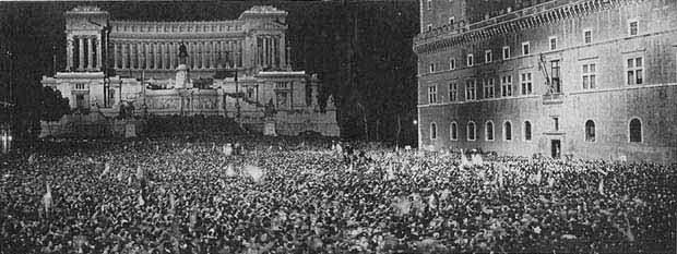 Palazzo Venezia durante il fascismo - Roma