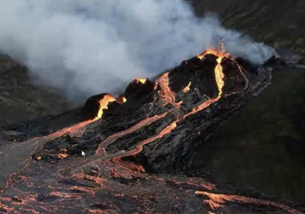 Geldingadalur_ vulcano islandese_eruzione_Reykjanes