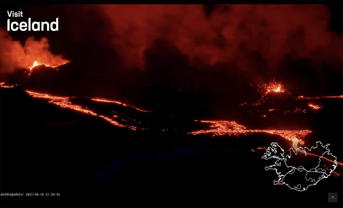Vulcano Islanda eruzione 2021_foto