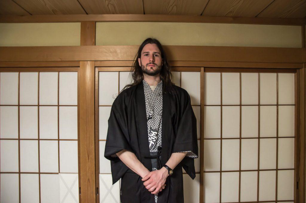 Yukata, indossato in un ryokan-hotel