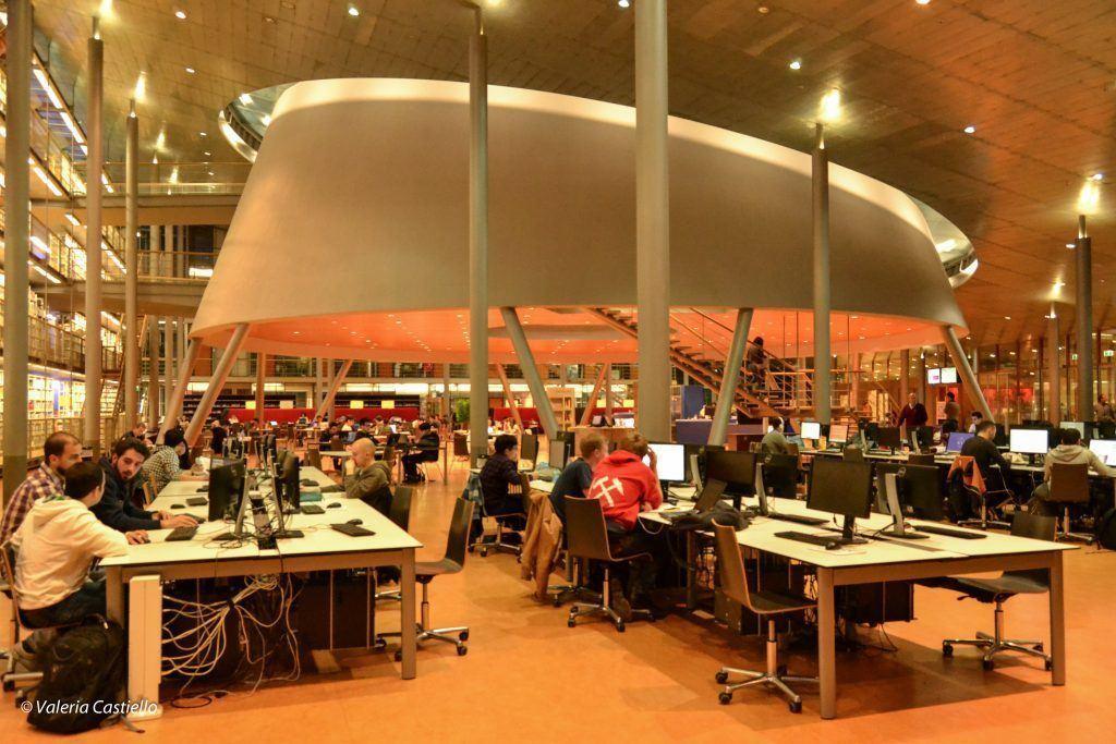 Libreria della TU Delft, Mecanoo architecten