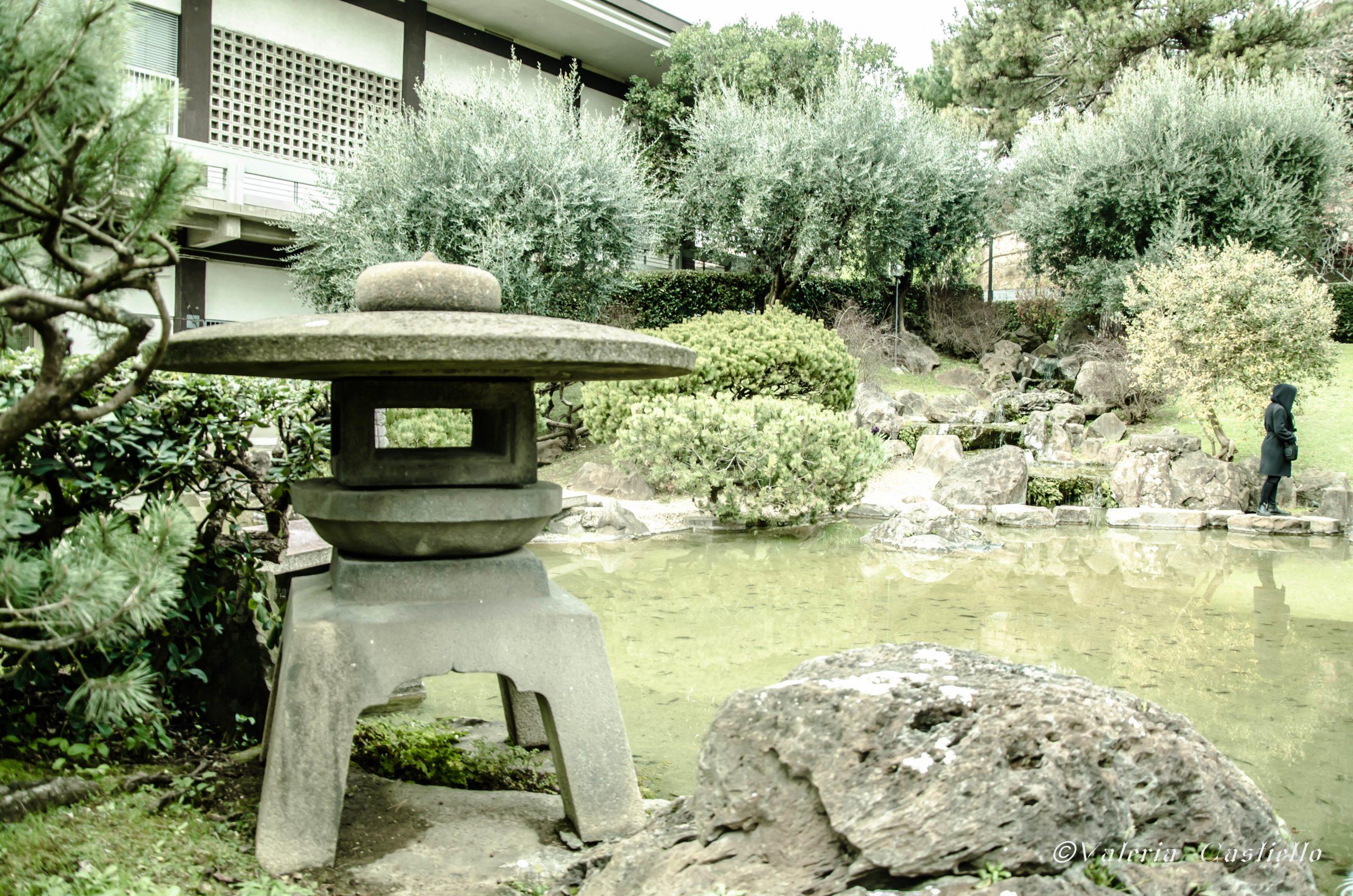 Giappone a Roma - Il giardino con laghetto (stile sen'en) dell'Istituto Giapponese di Roma