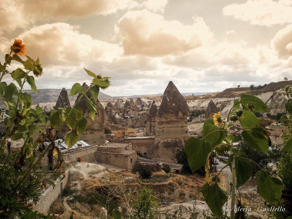 "Panorama dal ""Fairy Chimney Inn"" di Göreme - Hotel insoliti"
