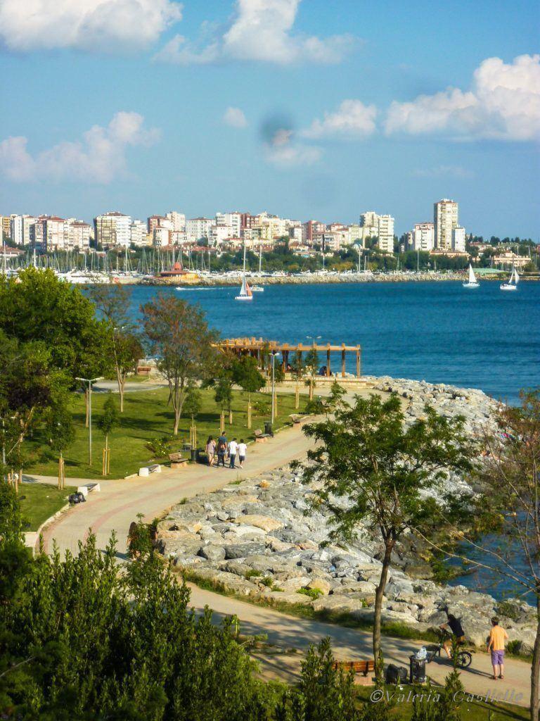 Il Bosforo visto dalla parte Asiatica - Istanbul con un amico del posto