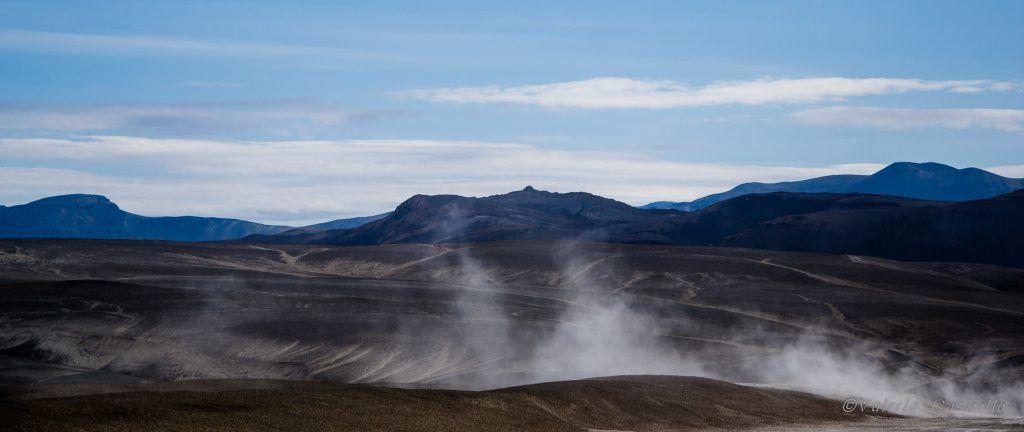 verso il vulcano Hekla - Landmannalaugar, Islanda dell'entroterra