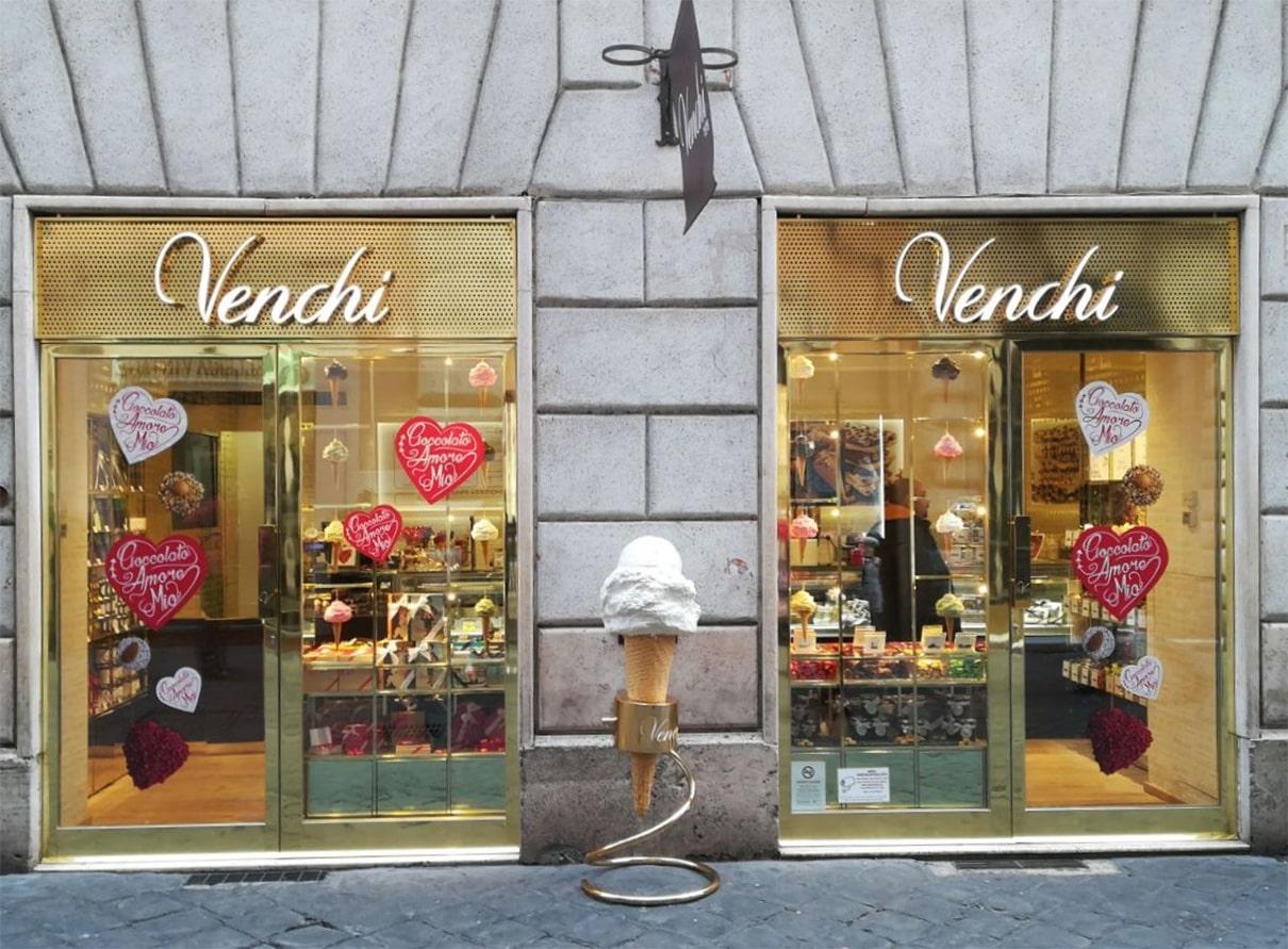 Venchi_miglior gelateria Roma