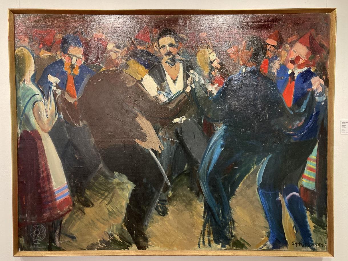 S.J. Mikines_Chain dance_Faroe_National Gallery